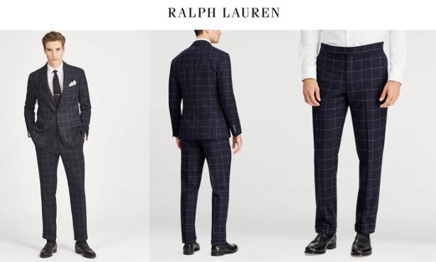 Ralph Lauren - Costumes à l'Américaine de qualité