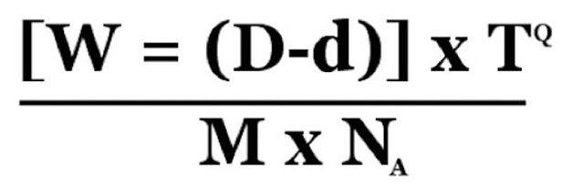 Formule de calcul du Blue monday