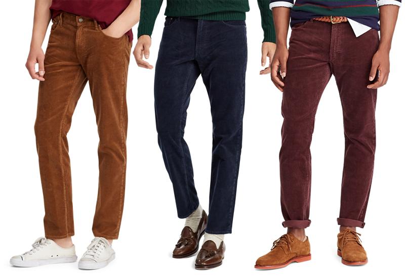 Pantalon en velours pour hommes Ralph Lauren