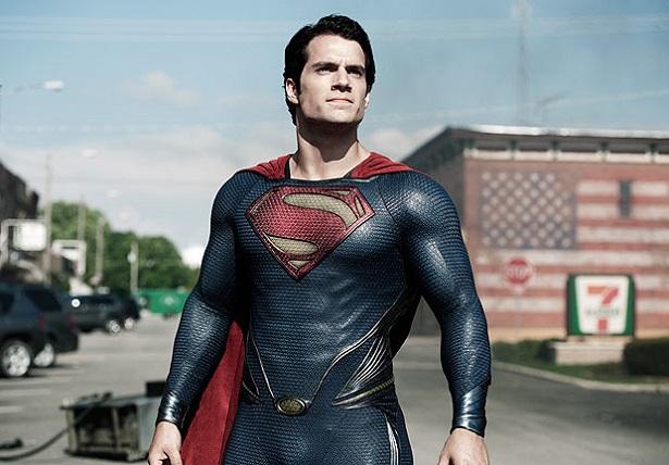 L'acteur de Superman, possédant un physique impressionnant