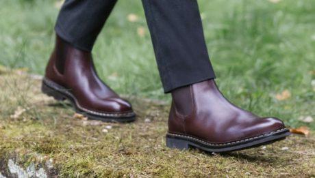 Boots Tremble homme en cuir
