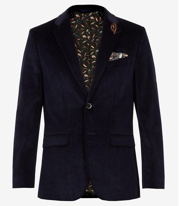 Veste en velours pour homme - Marque Ted Baker - Prix : 465€