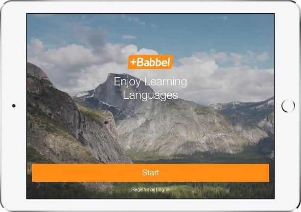 Babel vous permet d'apprendre l'anglais mais pas que