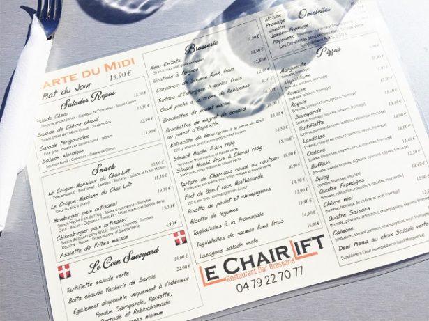 dejeuner-la-plagne-chairlift-menu
