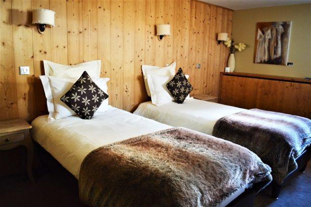 hotel-le-cocoon-lits-jumeaux-la plagne