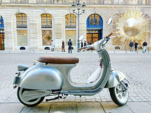 Design vintage, look élégant : Scooter électrique 2twenty