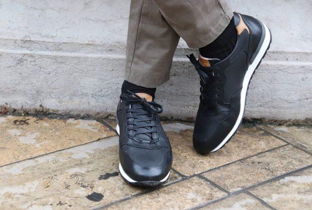 Sneakers élégantes Caberra pour homme - Bexley