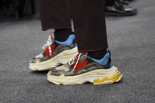 Ceci n'est pas une paire de sneakers élégante ;)