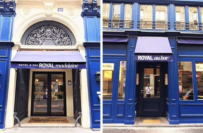 Une escale détente à l'Hôtel Royal Madeleine à Paris