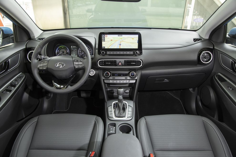 Hyundai Kona Hybrid, design intérieur