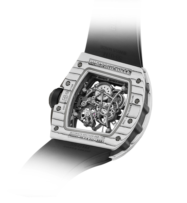 Richard Mille // Nouvelle RM 61-01 Ultimate Edition Yohan Blake - face - back