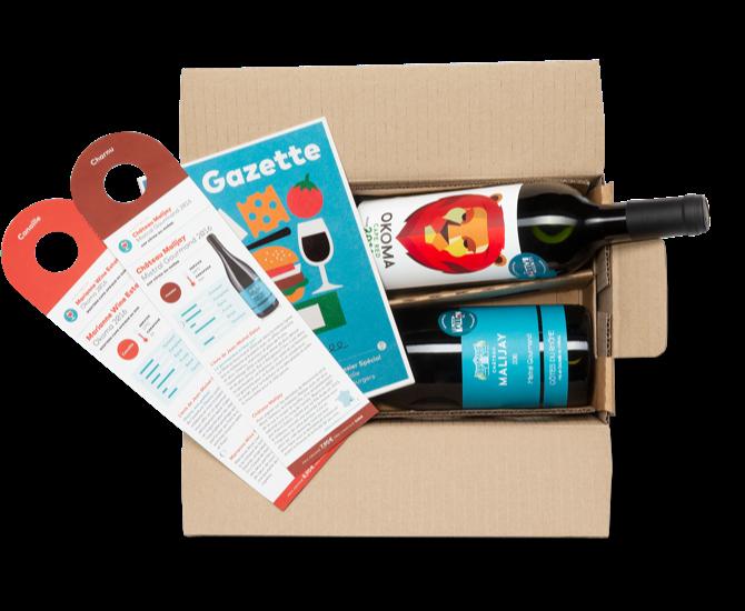 Box abonnement vins