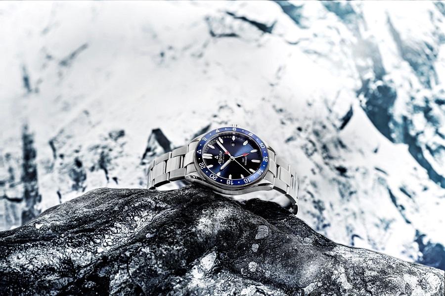 Photo Montre Alpina - Alpiner quartz GMT
