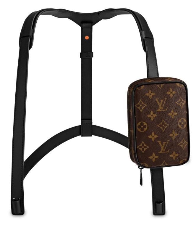 Louis Vuitton : SAC HARNAIS UTILITY, 1490 euros